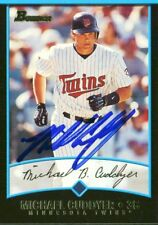 Twins Michael Cuddyer Authentic Signed Card 2001 Bowman RC #259 w/ COA
