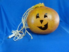 Large Halloween Jack-O-Lantern Pumpkin Gourd Luminary Decoration