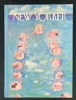 COVER ONLY ~ The New Yorker Magazine, July 10, 1965 ~ Andre Francois