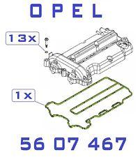 Opel Corsa C. Corsa D, Meriva Ventildeckeldichtung  1.2 , 1.4 (+ 13x O-Ring )