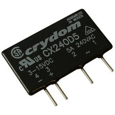 Crydom CX240D5 Relais 12V-280V AC 5A Elektronisches Print-Lastrelais SIP4 855448