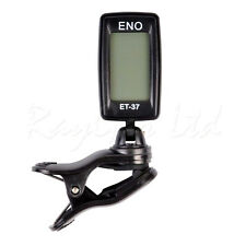 ENO ET-37 MINI CLIP ON CHROMATIC ACOUSTIC ELECTRIC BASS GUITAR TUNER VIOLIN UKE