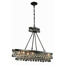 Bettina Collection Pendant Lamp L-44 Inch W-13 Inch H-31 Inch Lt-8 Bronze New