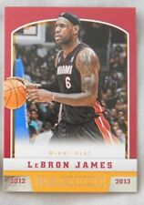 2012-13 Panini Miami Heat Team Set (9) Basketball Card Lebron James