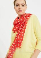 Phase Eight Franca Ditsy Floral Scarf Red RRP39