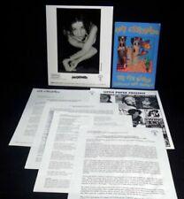 ANI DIFRANCO Original PRESS KIT 8x10 Photo + Postcard Little Plastic Castles