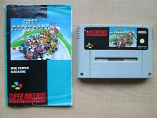Super Nintendo - SNES - Super Mario Kart - GAME + MANUAL