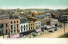 A Bird's Eye View of Downtown Mt Clemens MI 1907