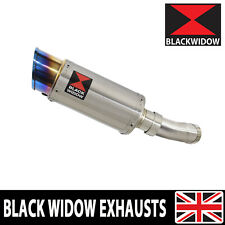 KAWASAKI Z900RS & Cafe 4-1 Exhaust Muffler Round Stainless Blue Tip SL20R