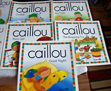 CAILLOU lot 16 Chouette Kids Picture Book Set - Nice books