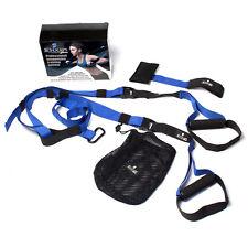 Schukaps - Suspension Trainer Straps Correa Entrenamiento Fitness Gym Azul Blue