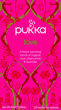 Pukka Tea Love Organic Herbal 20 Teabags