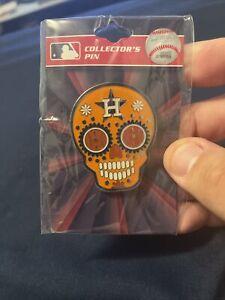 Houston Astros Sugar Skull Jumbo Pin MLB