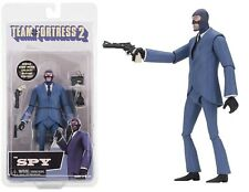 NECA Team Fortress 2 Spy Series 3.5 BLU Action Figure IN STOCK!