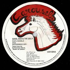 "PAPA KEEBLE-good bad & the ugly    carousel 12""   (hear)  reggae"
