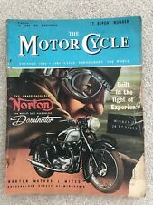 14 June 1951 TT Report number Guide classic Bike Motorcycle Norton Dominator