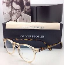 OLIVER PEOPLES Eyeglasses GREGORY PECK OV 5186 1485 47-23 Round Buff & Tortoise