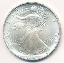 1995 AMERICAN SILVER EAGLE 1 OZ COIN EXACT SHOWN