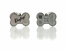Hundemarke - Digitale NFC Hundemarke - wasserfest - robust - graphite