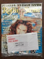 Rolling Stone Magazine Madonna July 1998, NEW Sealed in Plastic