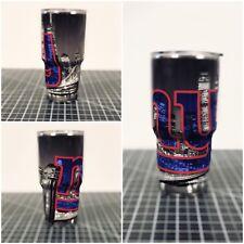 Yeti/Ozark 20 Oz 30 Oz Custom New York Giants Wrapped Cup Rambler