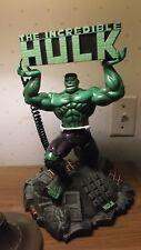 """Marvel Avenger Incredible Hulk phone Telephone Statue 14"""" Tall Parts or Repair"""
