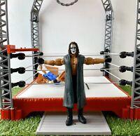RARE STING WCW WWE WWF Wrestling Figure Wrestler White Face - Mattel (2015)