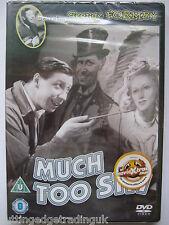 Much Too Shy, George Formby [DVD, 1941] NEW SEALED Region 2 PAL