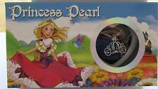 Princess Pearl-  Necklace & Pendant- genuine pearl in oyster- princess carriage
