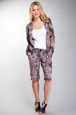 NEW Da Nang Women's Tie Dye Shorts GRIS FTG50751665 Size MEDIUM