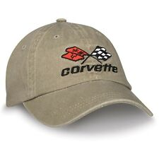 C3 Corvette Khaki Cotton Hat