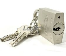 ABUS Marine Grade Mini Padlock Stainless Brass EC Dimple Key Made In Germany