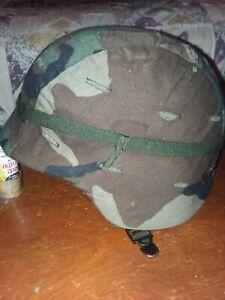 PASGT US Army combat helmet woodland camo