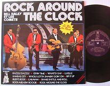 BILL HALEY (LP 33T)  ROCK AROUND THE CLOCK LE ROI DU ROCK  LIVE RECORDING