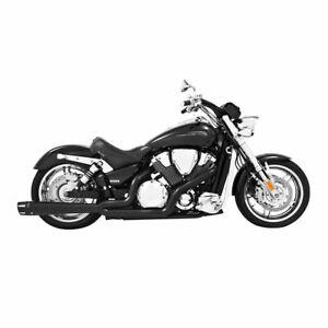 FREEDOM EXH 2 INTO 1 BLACK VTX1800C/F/R/N MH00014 MC Honda