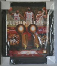Houston Rockets NBA 1994 1995 Finals Champions Game Used Framed Team Collage