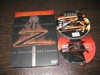 La Legenda Del Zorro- Maschera Volpe DVD Due Film IN Cassetta Metallizzata