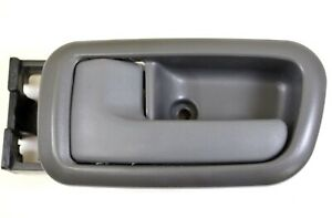Inner Inside Door Handle Bezel Dark Gray for Extended Cab ONLY Rear Left Side