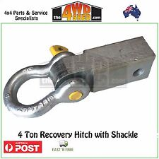 4x4 4WD Recovery Hitch with 4.7T Bow Shackle snatch rear recovery point
