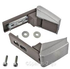 Silver Door Hinge Pair For Liebherr Fridge Freezer Refrigerator Hinges And Fixes