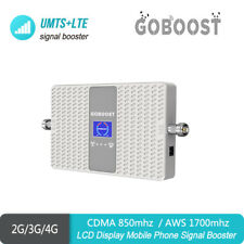 2/3G 4G CDMA850 AWS1700mhz Dual Band4/5  Phone Signal Booster Repeater Amplifier