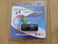 WIRELESS LAN 11G USB ADAPTOR,DONGLE,IEE 802,