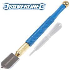 Silverline 282636 175mm Lubricated Glass Cutter