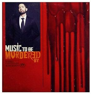 EMINEM MUSIC TO BE MURDERED BY CD New Release - Royal mail 24 service