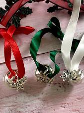 Silver Santa Believe Bell - Polar Express Christmas Eve Box Filler Gift 2020