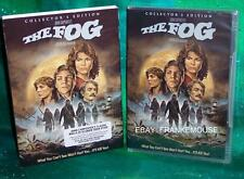 NEW SCREAM FACTORY THE FOG COLLECTOR'S EDITION HORROR MOVIE DVD & SLIPCOVER 1979