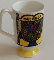 Vintage Royal Crown Arnart Mood Of The Month by kitty 3333 October coffee Cup