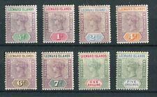 Leeward Islands QV 1890 set of 8 SG1/8 mint hinged