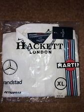 Mens Williams Martini Racing Randstad Hackett London Shirt Size XL