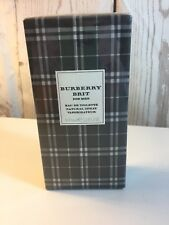 Burberry Brit Men Eau de Toilette Spray 3.3oz 100ml * New in Box Sealed *
